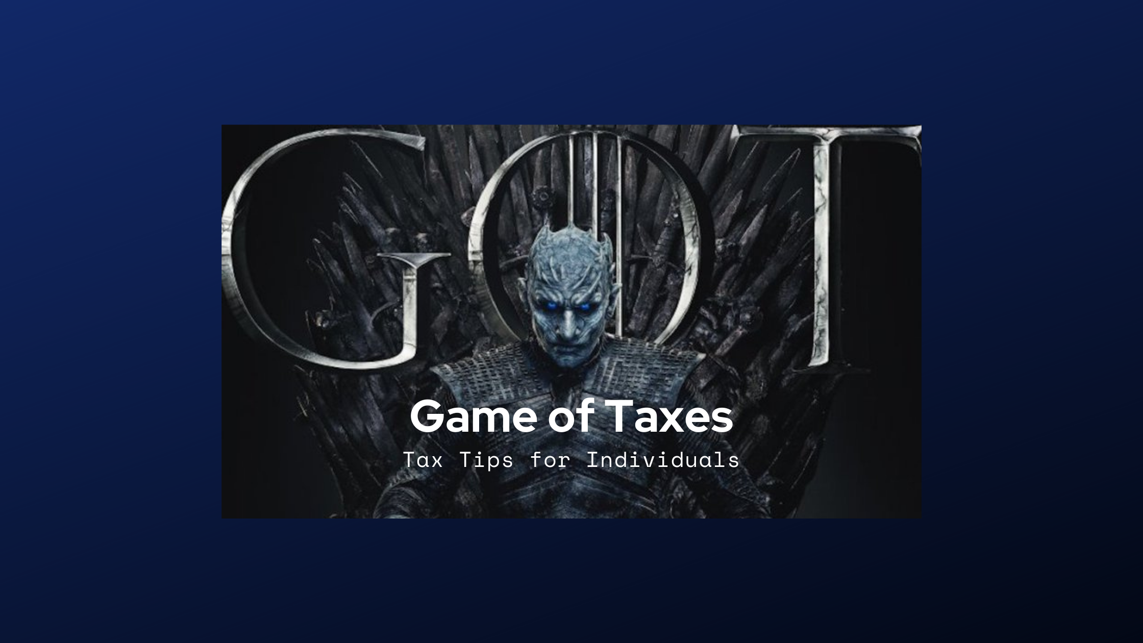 Game of Taxes: Tips That Will Help You!